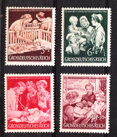 Germania Reich - 1944. Mamme E Neonati.  Family. Mothers And Newborns. Complete MNH, Fresh, Series - Autres
