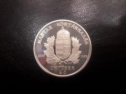 HUNGRÍA.  1956-1989.   MONEDA O MEDALLA DE PLATA.  PESO 31,76 GR - Hungría