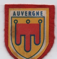 Ecusson Tissu Ancien/Imprimé /AUVERGNE/ France /( Biscottes  Grégoire)/ Vers 1960-1980    ET286 - Ecussons Tissu