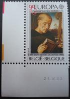 "1972 V1 Tache Avant ""BENEDICTUS"" Sans Charnière - Abarten Und Kuriositäten"