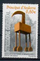 ANDORRA  SPAGNOLA 2008 - ARTE -SCULTURA DI CASAMAJOR - MNH ** - Andorra Spagnola