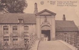 CARTOLINA - POSTCARD - BELGIO - BRUGES - INGANG VAN BELGIJNHOF - Belgio