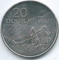 Australia - Elizabeth II - 20 Cents - 2016 - Dogs At War - Monnaie Décimale (1966-...)