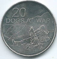 Australia - Elizabeth II - 20 Cents - 2016 - Dogs At War - Decimal Coinage (1966-...)