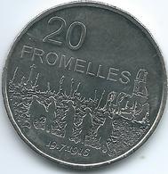 Australia - Elizabeth II - 20 Cents - 2016 - Fromelles - Decimal Coinage (1966-...)