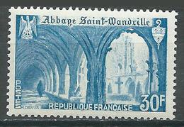 France YT N°888 Abbaye De Saint-Wandrille Neuf/charnière * - France