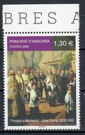 ANDORRA  FRANCESE 2006 - ARTE DIPINTO DI BORRELL - MNH ** - Andorra Francese