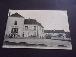 M/   53 MAYENNE  AHUILLE PLACE DE L EGLISE  PANTIER TAILLEUR CAFE BARREAU - Altri Comuni