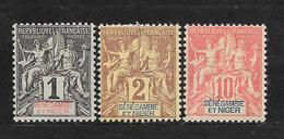 SENEGAMBIE ET NIGER - N° 1.2.5 NEUF * - COTE = 12.00 € - Unused Stamps