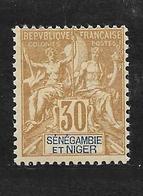 SENEGAMBIE ET NIGER - N° 9 NEUF * - COTE = 18.00 € - Unused Stamps
