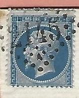Lettre De LYON VARIÉTÉ PIQUAGE DÉCALÉ TIMBRE PLUS PETIT N° 22 SUR LETTRE - Poststempel (Briefe)