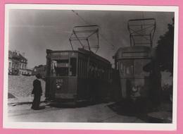 Photographie - TRAMWAY - Reproduction - SART - ALLE - CHARLEROI SUD -  N° 113 - Treinen