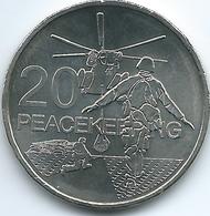 Australia - Elizabeth II - 20 Cents - 2016 - Peacekeeping - Decimal Coinage (1966-...)