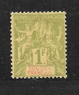 SOUDAN - N° 15 NEUF *  - COTE = 11.00 € - Sudan (1894-1902)
