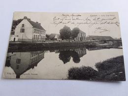Postkaart  Gavere Villa Van Innis 1907 - België