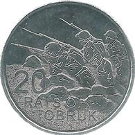 Australia - Elizabeth II - 20 Cents - 2016 - Desert Rats Of Tobruk - Decimal Coinage (1966-...)