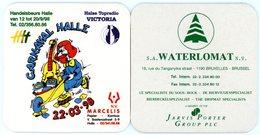 Belgium. Carnaval Halle. 22.03.98. Handelsbeurs Halle. Topradio Victoria. Marcelis. Waterlomat, De Bierviltjesspecialist - Sous-bocks