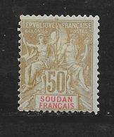 SOUDAN - N° 19 NEUF *  - COTE = 17.00 € - Sudan (1894-1902)