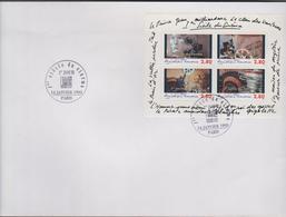 FRANCE 1 Enveloppe Premier Jour N°YT Bloc Feuillet BF17 - 14 1 1995 - 1 Siecle De Cinema - FDC