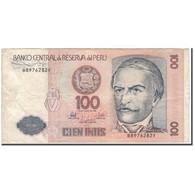 Billet, Pérou, 100 Intis, 1987-06-26, KM:133, TB - Peru