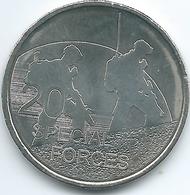 Australia - Elizabeth II - 20 Cents - 2016 - Special Forces - Monnaie Décimale (1966-...)