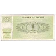 Billet, Slovénie, .50 (Tolar), KM:1a, TB+ - Slovénie