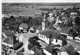 25-ARC-ET-SENANS- VUE DU CIEL LA PLACE DE L'EGLISE - France