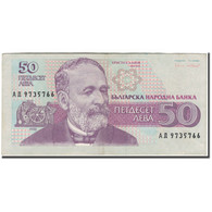 Billet, Bulgarie, 50 Leva, 1992, KM:101a, TB+ - Bulgarie