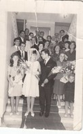 UKRAINE. #1532 A PHOTO. WEDDING. BRIDE AND GROOM. MANY FLOWERS.  *** - Proyectores De Cine