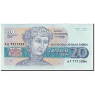 Billet, Bulgarie, 20 Leva, 1991, KM:100a, SUP - Bulgaria