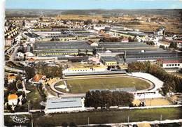 25-MONTBELIARD-LE STADE BONAL ET LES USINES PEUGEOT VUE GENERALE - Montbéliard