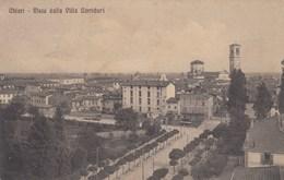 CHIARI-BRESCIA-VISTA DALLA VILLA CORRIORI-CARTOLINA VIAGGIATA IL 1-6-1914 - Brescia