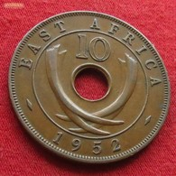 East Africa 10 Cents 1952 KM# 34  Afrika Afrique Oriental - Coins