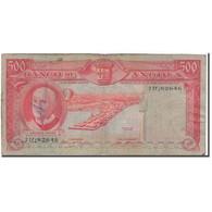 Billet, Angola, 500 Escudos, 1970-06-10, KM:97, B - Angola
