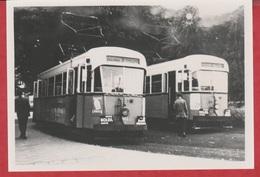 Photographie - TRAMWAY - Fleurus - Ligne 7 - Machine 401-404 - 1960 - N°  1 - Treinen