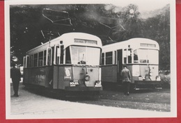 Photographie - TRAMWAY - Fleurus - Ligne 7 - Machine 401-404 - 1960 - N°  1 - Trains