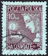 ~~~ Poland Pologne 1927 - Surtax For Public Schools - Mi. 247 (o)  ~~~ - 1919-1939 Republic