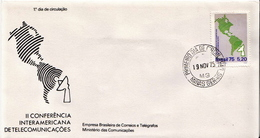 Brazil Stamps On FDC - Geography