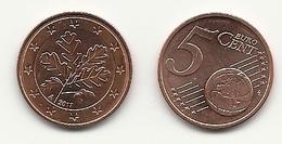 5 Cent, 2017, Prägestätte (A) Vz, Sehr Gut Erhaltene Umlaufmünze - Allemagne