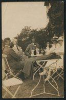 1918 Sweden Family Social History RP Postcard. Malmo - Denmark Redirected Sandvig Bornholm. 7/10ore Gustav Provisional - Sweden