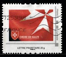 Timbre Personnalisé : Ordre De Malte. - France