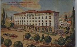 3238   - Vaucluse - AVIGNON  :  DOMINION  HOTEL  , Ouverture Octobre 1924 , Par Illustrateur  T. RARE - Avignon