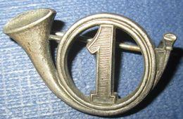1° Groupe De Chasseurs Portés, Dos Lisse - Armée De Terre