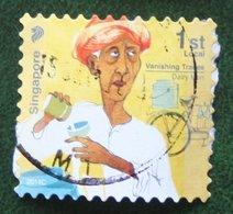 1st Local Vanishing Handicrafts Self Adhesive Mi ? 2013 Used Gebruikt Oblitere SINGAPORE SINGAPUR - Singapur (1959-...)