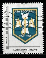 Timbre Personnalisé : AJA Football De Auxerre 1920 - 1995. - France