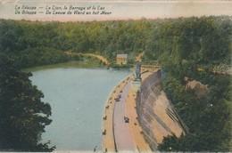 CPA - Belgique - La Gileppe - Le Lion - Le Barrage - Le Lac - Gileppe (Barrage)