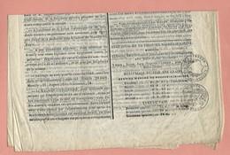 NOGENT SUR SEINE JOURNAL PETITES AFFICHES  1841 - Newspapers
