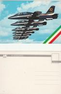 Cartolina Postale Nuova AEREI FRECCE TRICOLORI - Pattuglia Acrobatica - FRIULI - Aerei