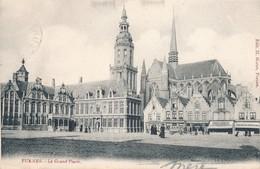 CPA - Belgique - Veurne - Furnes - La Grand'Place - Veurne