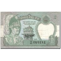 Billet, Népal, 2 Rupees, KM:29b, TTB - Nepal